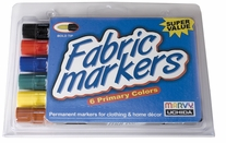 Fabric Marker Broad Tip Primary