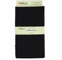 Fabric Palette 2yd Pre-Cuts 42in x 72in 100% Cotton Black