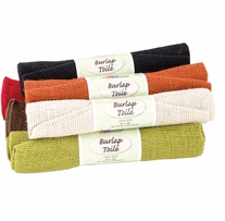 Fabric Palette Burlap Assortment Solid 18in x 21in 1/Pkg Solid