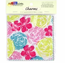 Fabric Palette Charm Pack 5in x 5in Cuts Kingston