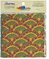 Fabric Palette Charm Pack 5inX5in Cuts Down Home Traditions