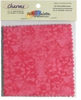 Fabric Palette Charm Pack 5inX5in Cuts Textures