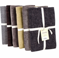 Fabric Palette Chenille Pre-Cut Assortment Dark
