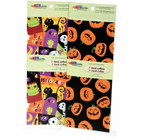 Fabric Palette Halloween Assortment 1yd Pre-Cuts 2/Pkg #MDGHAL1