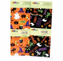 Fabric Palette Halloween2 Asst 1yd Pre-Cuts 2/Pkg #MDGHAL2