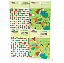 Fabric Palette Holiday 2pc Assortment 1yd Pre-Cuts #MDGHO1Y3