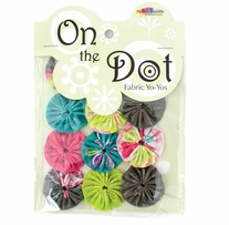 Fabric Palette On The Dot Yo-Yos 1.5in Kingston