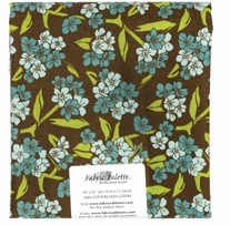 Fabric Palette Pre-Cuts Zinnia Blue A