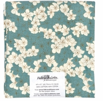 Fabric Palette Pre-Cuts Zinnia Blue D