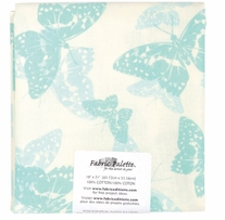 Fabric Palette Pre-Cuts Zinnia Blue E