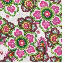Fabric Palette PreCuts 18inX21in Punch of Paisley2
