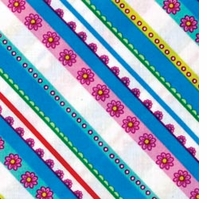 Fabric Palette PreCuts 18inX21in Punch of Paisley4