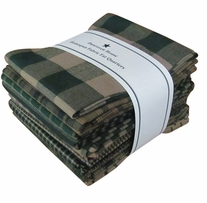 Fat Quarter Bundles Green Homespun
