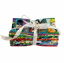 Fat Quarters DC Comics 18in x 21in 11pcs