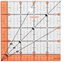 Fiskars Quilting Ruler 4.5inx4.5in