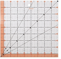 Fiskars Quilting Ruler 8.5inx8.5in
