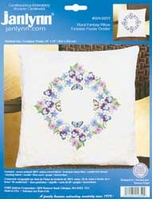 Floral Fantasy Candlewicking Embroidery Kit