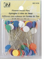 Flower Head Pins 75/Pkg