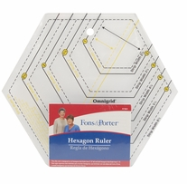 Fons and Porter Hexagon Ruler