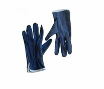 Fons and Porter Machine Quilting Gloves Blue Medium