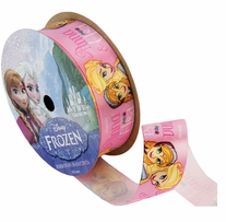 Frozen Ribbon Anna & Elsa 7/8inX9ft