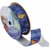 Frozen Ribbon Royal Characters 7/8inX9ft