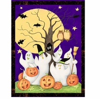 Ghost Story Wall Hanging 43/44in Wide 100% Cotton D/R Multi