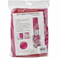 Gift Wrap Storage Holder Fuchsia