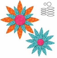 Go! Baby Fabric Cutting Dies Daisy