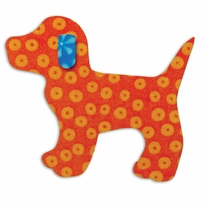 """GO! Baby Fabric Cutting Dies Gingham Dog <font color=""""#cc0000"""">Sale!</font>"""
