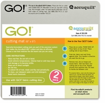 GO! Cutting Mat 6inx6in 2/Pkg
