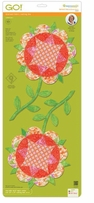 GO! Fabric Cutting Die Harrison Rose Block 14in