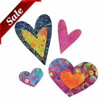 GO! Fabric Cutting Die Queen Of Hearts Four Sizes