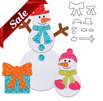 GO! Fabric Cutting Dies Holiday Accessories