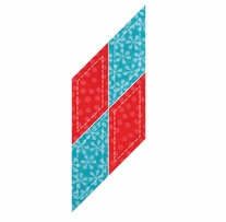 """GO! Fabric Cutting Dies Parallelogram 2-1/4inX2in <font color=""""#cc0000"""">Sale!</font>"""