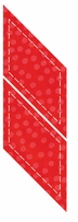 """GO! Fabric Cutting Dies Parallelogram 2-3/4inX2-1/2in <font color=""""#cc0000"""">Sale!</font>"""