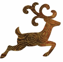 GO! Fabric Cutting Dies Reindeer