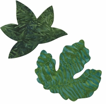 GO! Fabric Cutting Dies Rustling Leaves #1 Sweetgum & Poplar Large