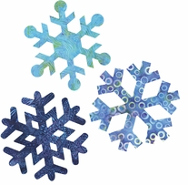 GO! Fabric Cutting Dies Snowflakes 7in