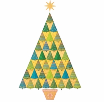 GO! Fabric Cutting Dies Sparkle Tree By Sarah Vedeler