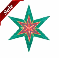 GO! Fabric Cutting Dies Star 6 Point By Sarah Vedeler
