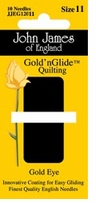 Gold'n Glide Quilting Needles Size 11