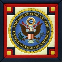 Great Seal Of The United States Quilt Magic Kit 12in x 12in