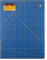 Gridded Cutting Mat Royal Blue 18inX24in
