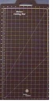 Gridded Rotary Mat With Handle 11inX23in