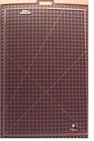 Gridded Rotary Mat With Handle 26inx39in