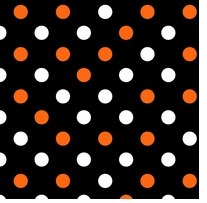 Halloween Multi Dots 43/44in Wide 100% Cotton D/R Multi