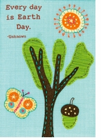 Handmade Collection Everyday Is Embroidery, Felt Applique Kit