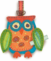 Handmade Owl Ornament Embroidery Kit