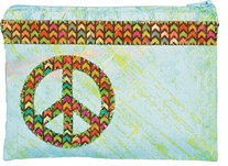 Handmade Peace Accessory Bag Embroidery Kit